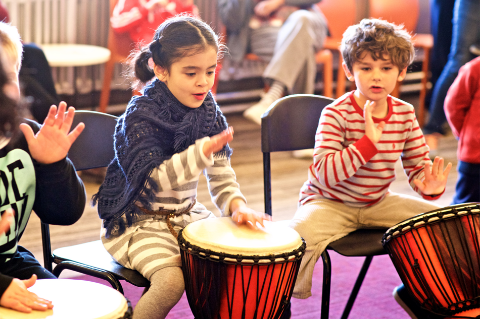 Hand Drumming Group Lessons: 5+ years
